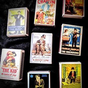 Chaplin Match Boxes